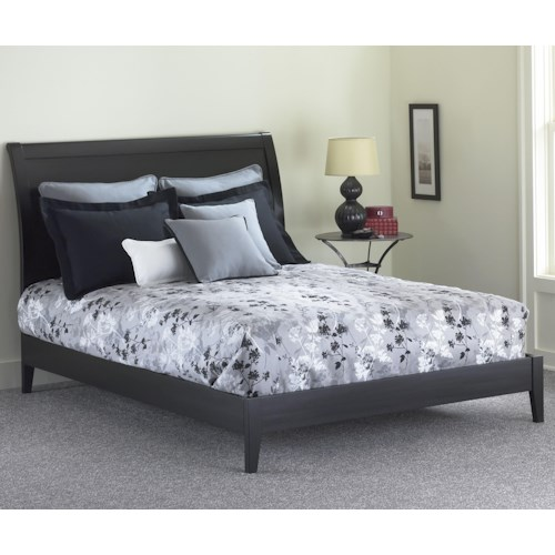 Morris Home Furnishings Wood Beds Queen Java I Platform Bed