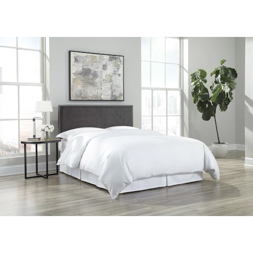 Morris Home Furnishings Zurich King/California King Upholstered Headboard