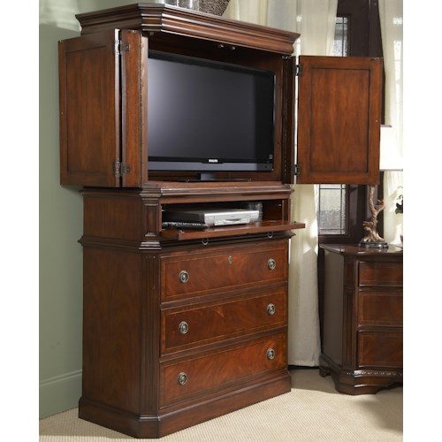 Belfort Signature Westview Traditionally Styled Entertainment Armoire