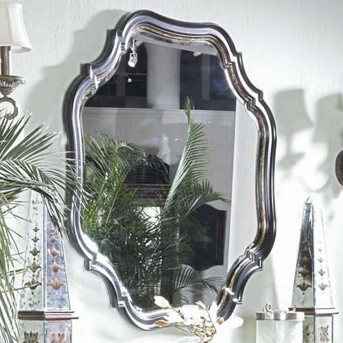 Belfort Signature Westview Decoratively Shaped Hanging Wall Mirror