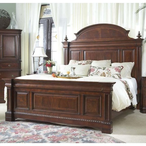 Belfort Signature Westview Traditional King Mansion Bed