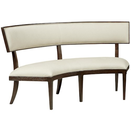 Fine furniture design textures vera banquette with upholstered ...