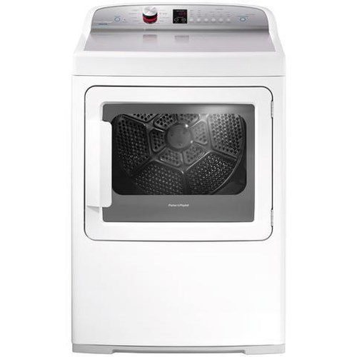 Fisher and Paykel Electric Dryers 7 cu. ft. AeroCare Electric Front Load Dryer with Steam Cycles