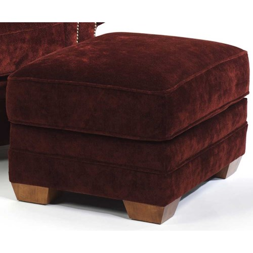 Flexsteel Harrison Upholstered Ottoman