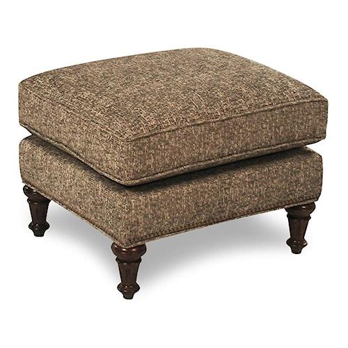 Flexsteel Accents Churchill Upholstered Ottoman