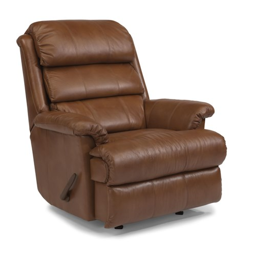 Flexsteel Accents Yukon Power Rocking Recliner