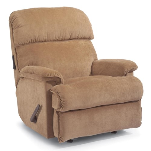 Flexsteel Accents Geneva Swivel Glider Recliner