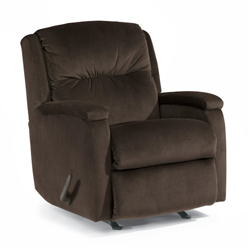 Flexsteel Accents Kayla Swivel Glider Recliner