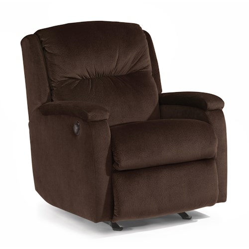 Flexsteel Accents Kayla Power Rocker Recliner