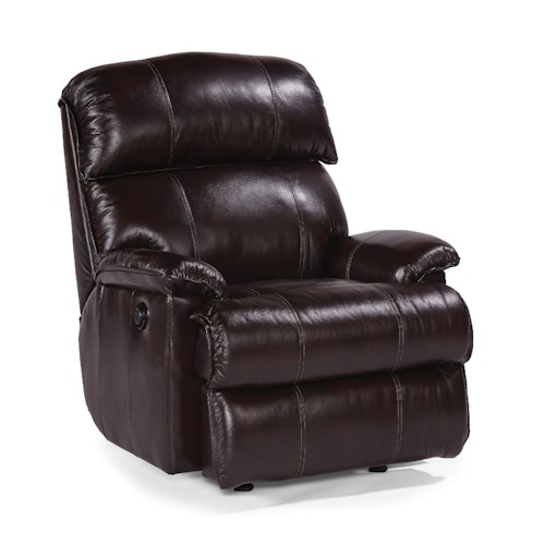 Flexsteel Accents Geneva Power Rocker Recliner