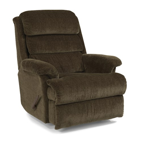 Flexsteel Accents Yukon Swivel Glider Recliner