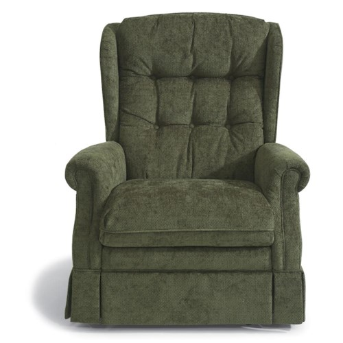 Flexsteel Accents Hartford Swivel Glider Recliner