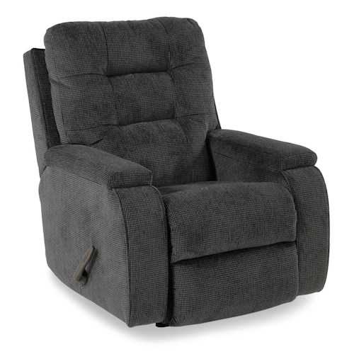 Flexsteel Accents Kerrie Recliner with Channeled Back