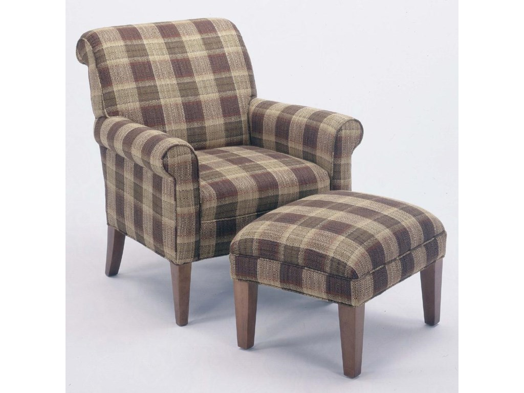 Shown with Newburgh chair **NOTE: Fabric shown no longer available**