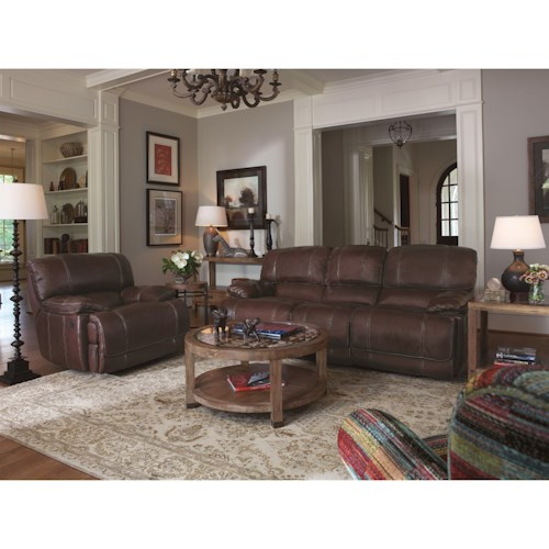 Flexsteel Latitudes - Belmont Reclining Living Room Group