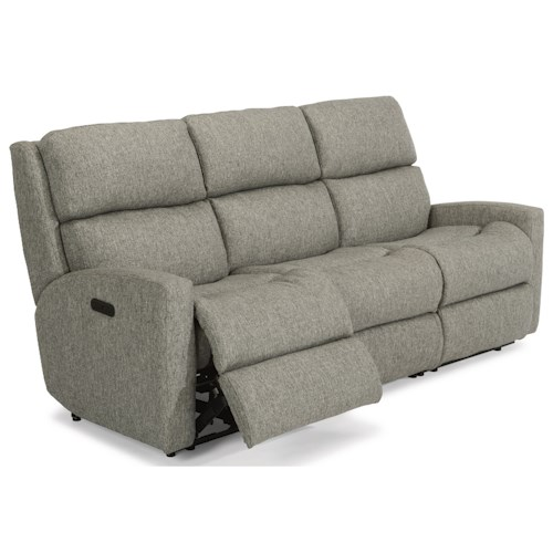 Flexsteel Catalina Contemporary Casual Reclining Sofa