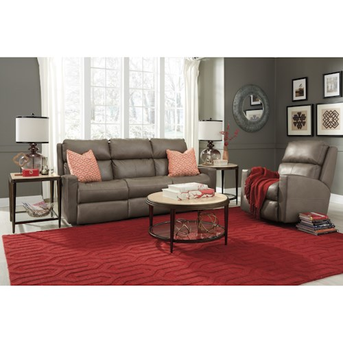 Flexsteel Catalina Power Reclining Living Room Group