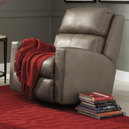 Flexsteel Catalina Power Rocking Recliner with Power Headrest and USB Port