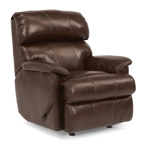 Flexsteel Chicago Casual Rocking Recliner