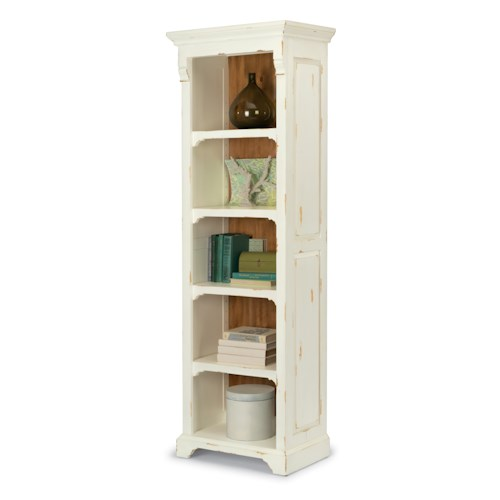 Flexsteel Cottage Grove Cottage Bookshelf / Pier Unit