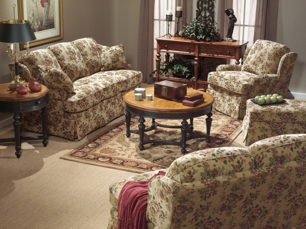 Shown with Sofa and Love Seat