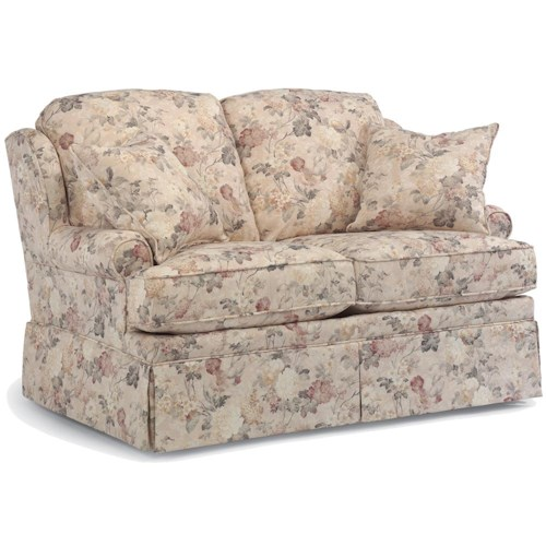 Flexsteel Danville Rocking Love Seat