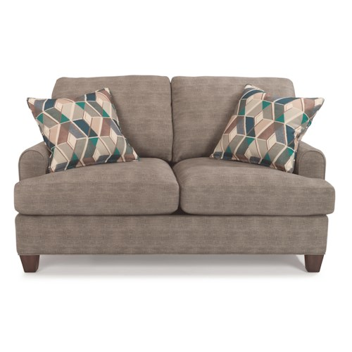 Flexsteel Donatello 5685 Loveseat with Reversible Cushions