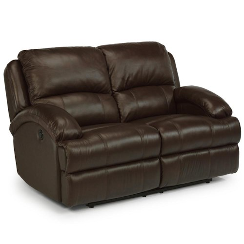 Flexsteel Latitudes - Fast Lane Double Power Reclining Loveseat