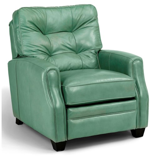 Flexsteel Latitudes - Flamenco Transitional High Leg Recliner with Tufted Back