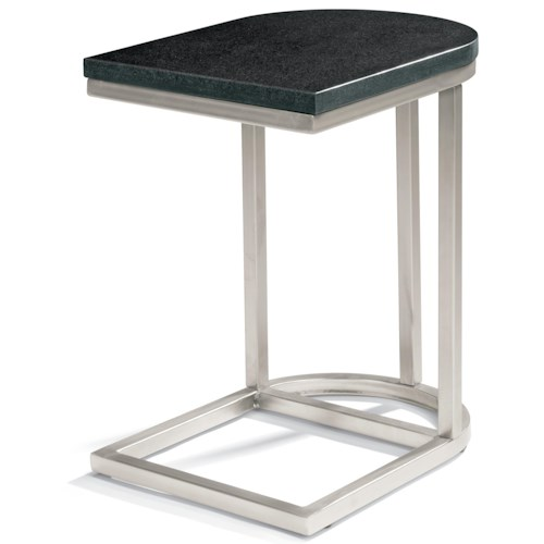 Flexsteel Galaxy Accent Table with Granite Top