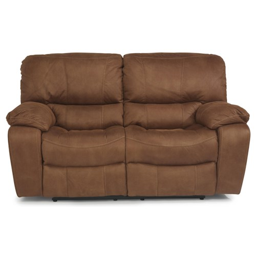Flexsteel Latitudes - Grandview Double Power Reclining Love Seat