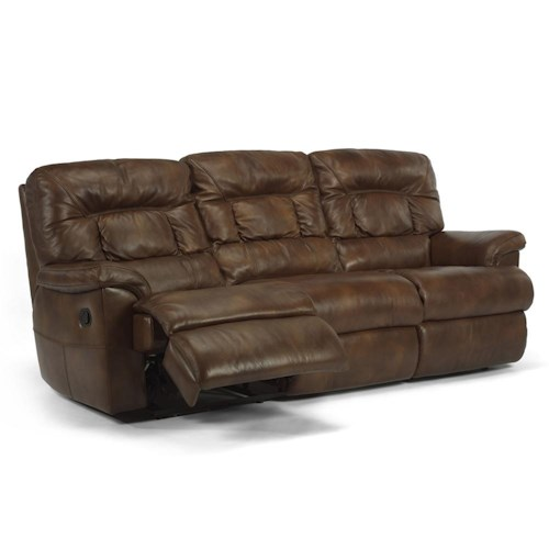 Flexsteel Latitudes - Great Escape Power Double Reclining Sofa