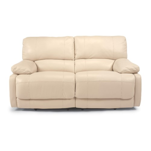 Flexsteel Latitudes - Hermosa Power Reclining Plush Love Seat