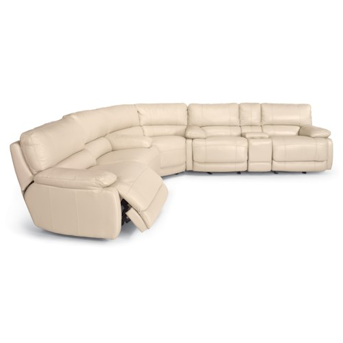 Flexsteel Latitudes - Hermosa Reclining Sectional Sofa