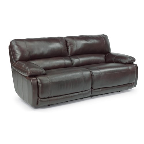 Flexsteel Hermosa Power Reclining Plush Sofa