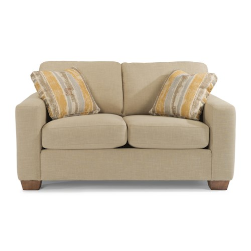 Flexsteel Kennicot Contemporary Casual Loveseat