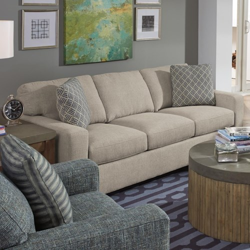 Flexsteel Kennicot Contemporary Casual Sofa