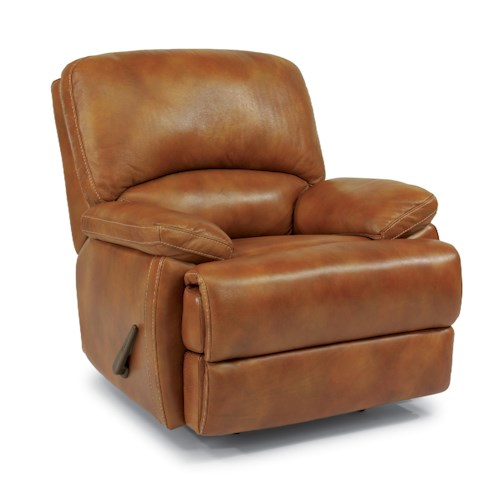 Flexsteel Latitudes - Dylan Leather Rocker Recliner