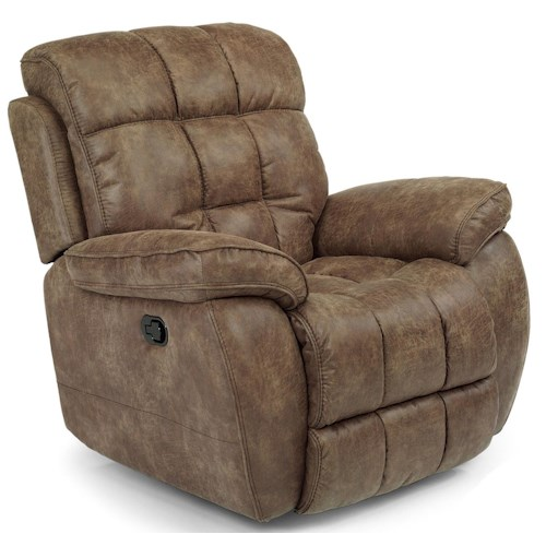 Flexsteel Latitudes - Nashua Casual Power Recliner with Tufted Seat and Back