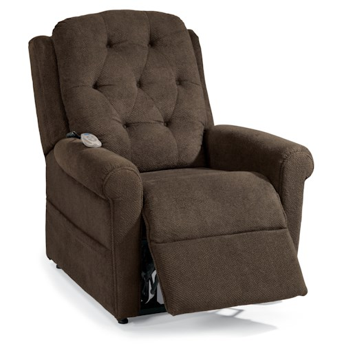 Flexsteel Latitudes Lift Chairs Dora Three-Way Power Lift Recliner