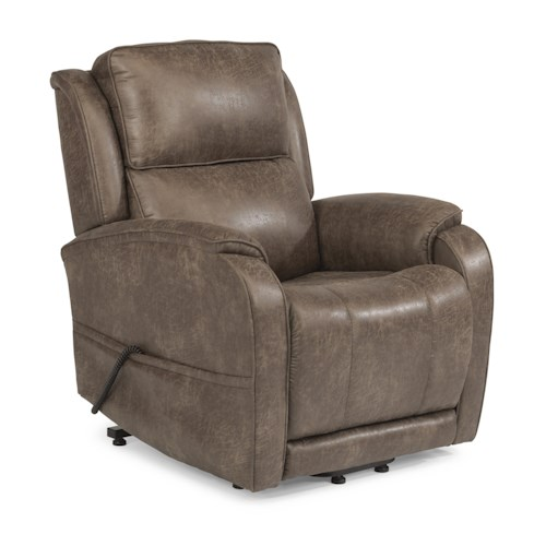 Flexsteel Latitudes Lift Chairs Nilson Three-Way Power Lift Recliner (Standard Size)
