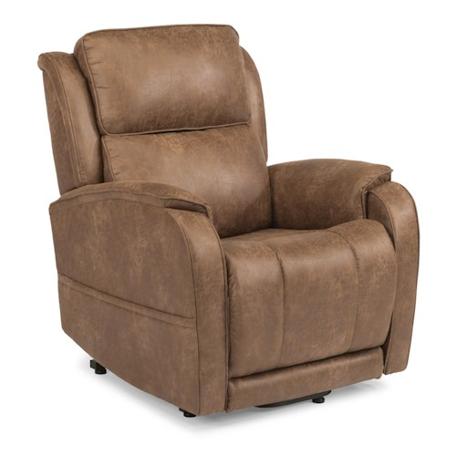 Flexsteel Latitudes Lift Chairs Nilson Three-Way Power Lift Recliner (Small Size)