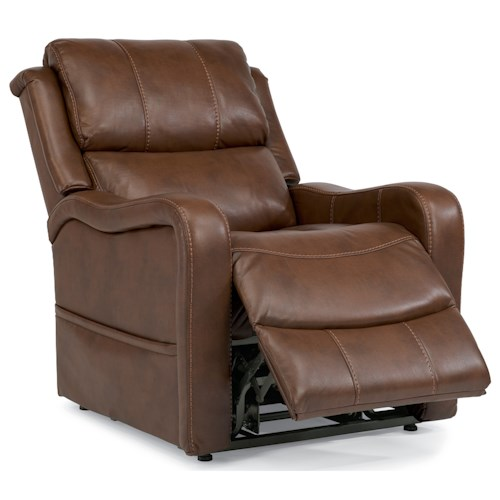 Flexsteel Latitudes Lift Chairs Bailey Three-Way Power Lift Recliner
