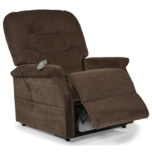 Flexsteel Latitudes Lift Chairs Hudson Three-Way Power Lift Recliner