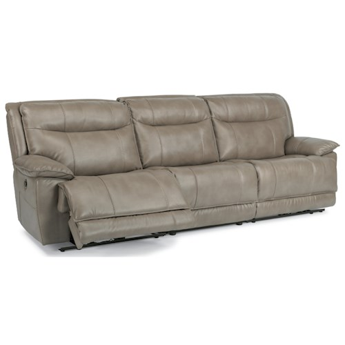 Flexsteel Latitudes-Bliss Three Piece Power Reclining Sectional Sofa