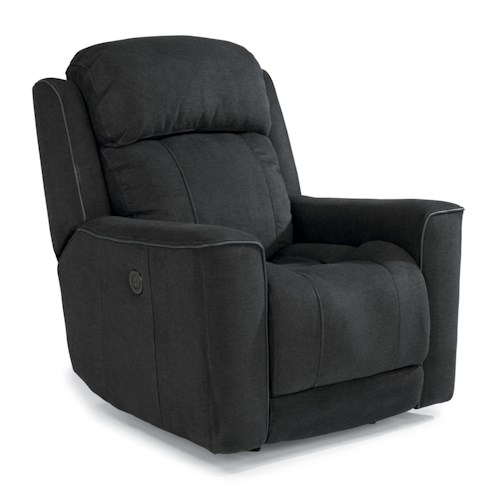 Flexsteel Latitudes-Brooks Casual Power Glider Recliner