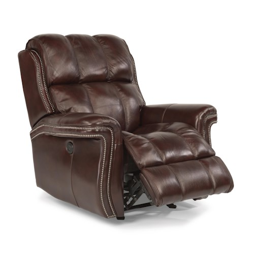 Flexsteel Latitudes - Challenger Power Glider Recliner with USB Charging Port