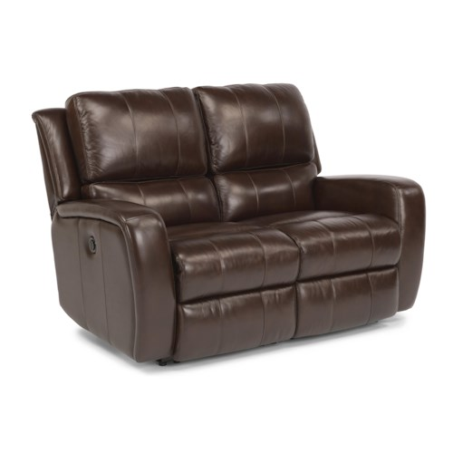 Flexsteel Latitudes-Hammond Power Reclining Love Seat