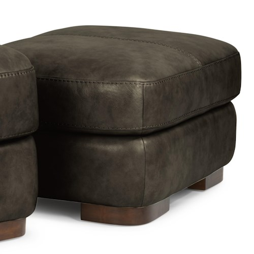 Flexsteel Latitudes - Jillian Contemporary Ottoman