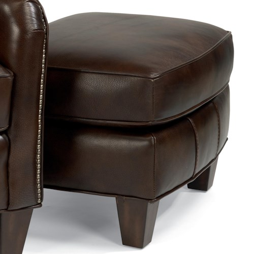 Flexsteel Latitudes-Lukas Transitional Ottoman